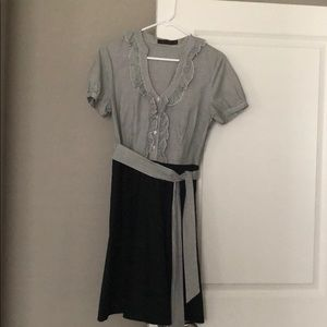 Limited Blouse dress with tie and pockets